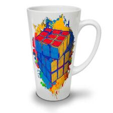 Cube jeu NEUF blanc Thé Café Tasse Latté 12 17 oz (environ 481.93 g) | wellcoda