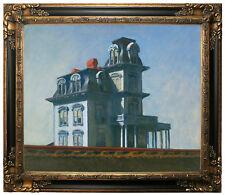 Hopper The House Framed Canvas Print Repro 20x24