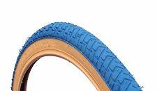 2 di COLORATE Street BMX PNEUMATICI GOMME BLU gumwall 20 X 2.125 ls214