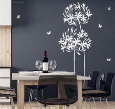 Wandtattoo Blume 160cm hoch Wandaufkleber Wandsticker Wand Aufkleber Floral N319