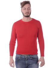 Maglia Daniele Alessandrini Sweater -50% MADE IN ITALY Uomo Rosso FMCL73701-9