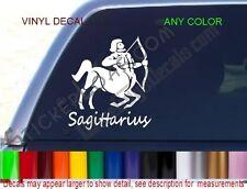 Sagittarius Decal Zodiac STICKER COLOR Astrology car truck decals stickers NEW