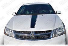 Dodge Avenger Hood Center Accent Stripe Decal 2011 2012 2013 2014 Pro Motor