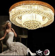 Bright Crystal Light Ceiling Chandeliers living room lights LED lamps lighting