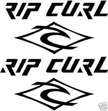 3 X Pegatinas Calcomanías Gráficos logotipos Rip Curl