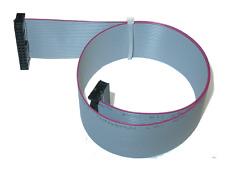 Flachbandkabel 26 pol Pfostenstecker Buchse zu Buchse IDC 10 cm - 100cm