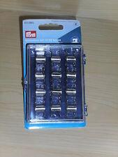 New-Prym-Sewing Machine Bobbin Storage Box-Filled with 12 Sewing Machine Bobbins