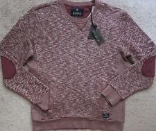 BUFFALO David Bitton (Red) FIMLEYAN Crew-Neck Sweater/ Sweatshirt Men's NWT $69