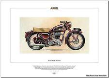 ARIEL RED HUNTER - Motor Cycle Fine Art Bike Print