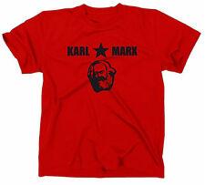 Karl Marx Camiseta T-Shirt, CCCP URSS DDR ANTIFA, Ángel Lenin USSR Manifest