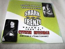 SHARK FRENZY-VOLUME 2-CITIZEN INVISIBLE-RICHIE SAMBORA NEW CD