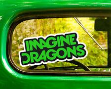 2 IMAGINE DRAGONS DECALs Sticker Bogo For Car Window Bumper Laptop Free Shipping