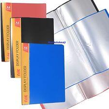 A4 Sichtbuch Feile Taschenbuch Dokument Präsentationsordner Portfolio 40 Tasche