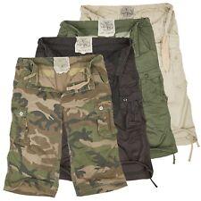 Urbandreamz Uomo Air Combat 3/4 Bermuda Cargo Pantaloncini cargo pant mimetici