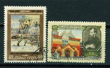 Russia Art Famous Paintings Tretiakov Gallery 100 Ann set 1956 #841-2