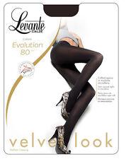 Levante Collant Donna - Evolution 80 Calze 80 DEN Cuciture comode punta nuda