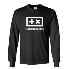 Martin Garrix Long Sleeve Shirt Animals Electro House Music Black T-Shirt