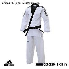 Adidas New 3S Super Master Uniform/TaeKwonDo Uniform/ITF Style/HAPKIDO Uniform