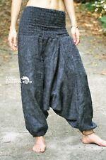 Warm Harem Pants Hippie Grey Yoga Cashmilon Festival Gypsy Soft Comfy Aladdin