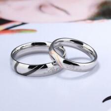 Unisex New Style Vintage Puzzle Heart Shape Wedding Couple Ring C