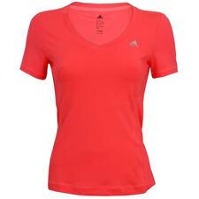 adidas Damen ClimaLite Essentials Shirt Laufshirt Fitness Sportshirt