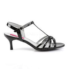 Black Strappy Sandals Mens Drag Queen Crossdresser Shoes Womans size 13 14 15 16