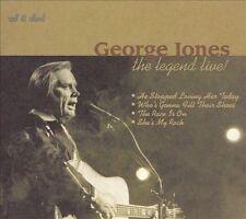 FREE US SHIP. on ANY 2 CDs! NEW CD George Jones: Legend Live (Dig)