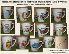 GS-1497-1512 - Tasse mit Name - Namenstasse -Sternzeichen mit Wunschname 2. Wahl
