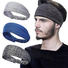Women Men's Headband Hairband Sports Yoga Turban Elastic Hair Band Accessories
