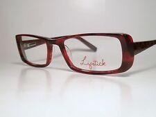 "New Ladies Plastic Sun/ Eyeglasses Frame LIPSTICK ""FASHION FIX"" Cherry List $140"