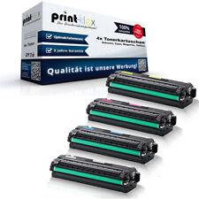 4x Kompatible Tonerkartuschen für Samsung CLT504 Sparset Kit -Drucker Plus Serie