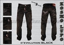 SIZE 29 30 31 32 33 34 36 38 40 NEW Mens KOSMO LUPO Italian Designer Jeans K&M