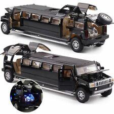 Hummer Limousine Simulation Alloy Metal Diecast Car Model Pull Back Kids Toy