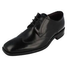 Mens Loake Black Leather Lace Up Shoe TAUNTON