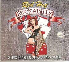 RED HOT ROCKABILLY 2 CD BOXSET 50 GREAT CLASSICS