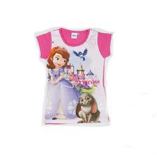 T-Shirt bimba Disney manica corta maglietta principessa Sofia *18059