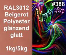 capa del Polvo Polvo Para Recubrimiento ral3012 Rojo Beige Rojo Marrón