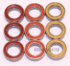 6x10x3mm 6x10x3 MR1062rs MR106 2rs ABEC5 Coloured Seal Bearings 1060 B028 RCB