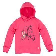35093 Bondi Mädchen Sweat Kapuze Shirt Sweatshirt Hoody Pferd pink Neu 92 - 152