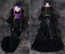 a-321 S/M/L/XL/XXL VOCALOID Miku Cosplay Kostüm Gothic dress costume black
