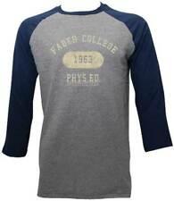 Animal House Faber College 1963 Blue Gray Men's Long Sleeve Raglan S,M,L,XL,2XL