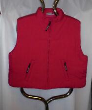 Damenweste wattiert pink kurzform Gr.36 38 42 44 und S  Polyester  Nr.7153