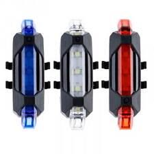 Luce LED posteriore bici bicicletta faro visibilità impermeabile ricaricabile