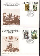 POLAND 1986 FDC SC#2746/49 JASNA GORA - COLLECTION