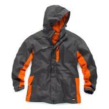 Scruffs Rain Jacket Worker Premium Waterproof  - Orange & Grey - (Sizes S-XXL)