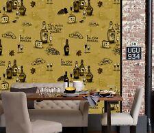 3D Retro Grape Wine 21 Wallpaper Mural Wall Print Decal Indoor Murals AU Lemon
