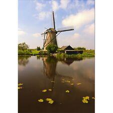 Stickers muraux déco : moulin à vent 1321
