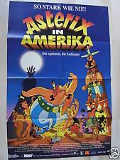 ASTERIX IN AMERIKA - Filmplakat A1 - Uderzo