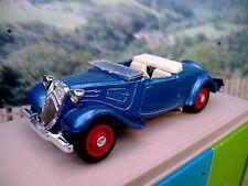 1/43 Eligor (France)   Citroen traction cabriolet 1938