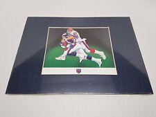 Super Bowl XXV Giants vs. Bills Bryan Robley Custom Printed
